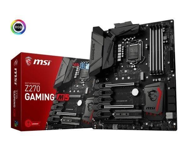 【台中平價鋪】全新 微星 MSI Z270 GAMING M5