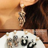 耳針 Space Picnic|俏皮熊玩偶設計耳環(預購)【C18094008】