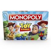 【孩之寶Hasbro】桌遊大富翁 MONOPOLY 地產大亨 玩具總動員4 中文版