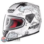 [中壢安信]義大利 Nolan N64 #41 C. CHECA 消光白 輕量 透氣 全罩 安全帽