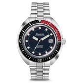 [萬年鐘錶]  BULOVA寶路華  復古 70年代 海洋潛水家 200米  自動機械錶  深藍錶面 男錶 98B320