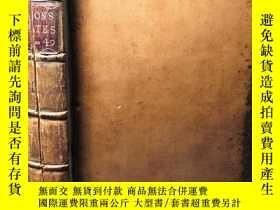 二手書博民逛書店1770年罕見THE DEBATES AND PROCEEDINGS OF THE BRITITH HOUFE O