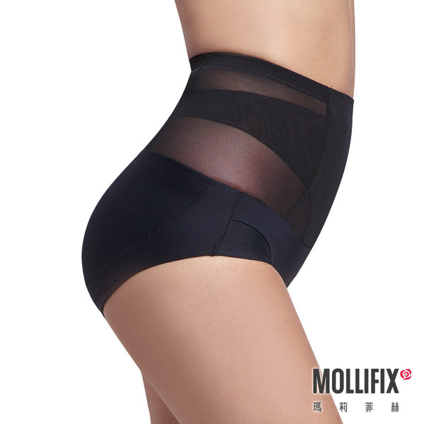 Mollifix瑪莉菲絲 軟鎧甲 縮腰翹翹塑身褲 (黑)