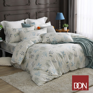 【DON】單人吸濕排汗天絲床包枕套二件組(買一送一超值組)清晨微光