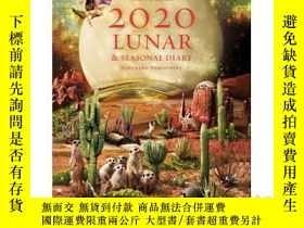 二手書博民逛書店2020罕見Lunar & Seasonal Diary: No