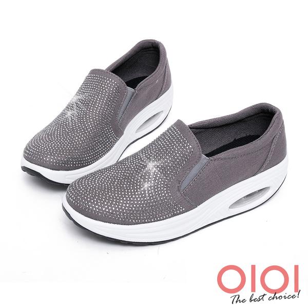 搖搖鞋 星光鑽飾氣墊搖搖鞋(灰)*0101shoes【18-617gy】【現貨】