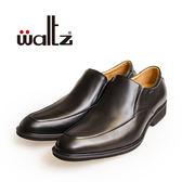 Waltz-「MIT」簡約素面套式紳士鞋514036-02(黑)