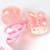 《Sanrio》美樂蒂大臉造型立體寶石風髮束(粉紅)_274721