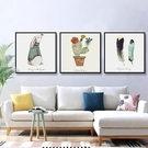 客廳壁畫裝飾畫沙發背景墻畫餐廳掛畫臥室畫【邻家小鎮】