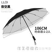 雨傘反向傘全自動收縮男摺疊超大車用遮陽晴雨兩用汽車載女太陽傘 美眉新品