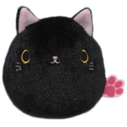 日本限定 2016 新品 沙包貓吊飾 包包吊飾/手機吊飾 黑貓款 該該貝比日本精品 ☆