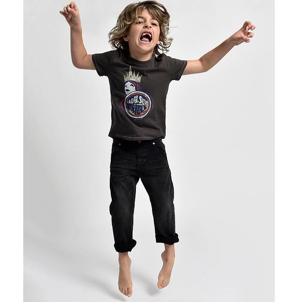 ONETEASPOON KIDS MR BROWNS JEAN 牛仔褲- 童裝(黑)