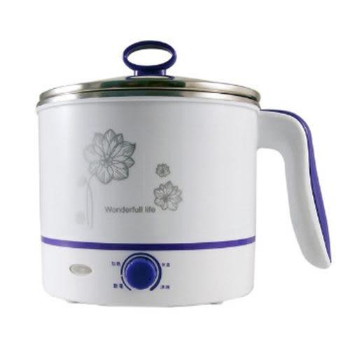 【好市吉居家生活】晶工牌 JK-102 多功能不鏽鋼電碗 1.5L 美食鍋 小電鍋 小湯鍋
