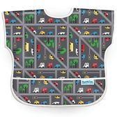 【美國Bumkins】兒童短袖防水圍兜 -小車車
