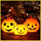 聖誕節裝飾南瓜燈兒童手提帶蓋