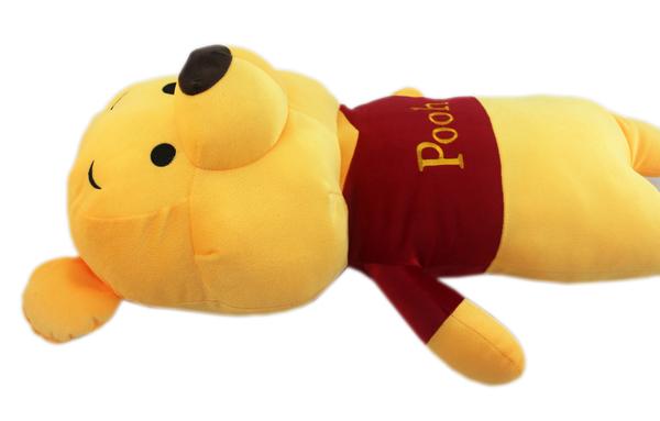 【卡漫城】 維尼熊 玩偶 68CM ㊣版 小熊 維尼 Winnie Pooh  絨毛 娃娃 布偶 長枕 佈置 擺飾 裝飾
