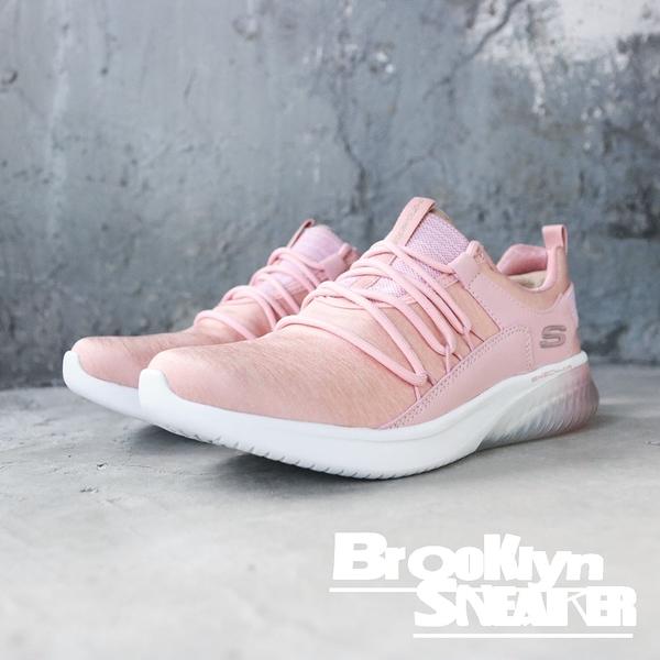 SKECHERS LITE BREEZE 粉紅織面記憶墊運動鞋 女(布魯克林) 2019/1月13292ROS