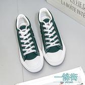 帆布鞋男秋季單鞋經典款休閒男鞋黑白色情侶鞋學生鞋運動板鞋