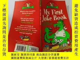 二手書博民逛書店My罕見First Joke Book:我的第一本笑話書 Y200392