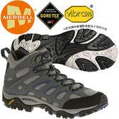 Merrell 65261 男GTX多功能中筒登山健行鞋 Moab Mid Gore-Tex耐走鞋/郊山鞋/健走慢跑鞋/黃金大底運動鞋