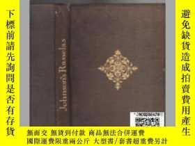 二手書博民逛書店【罕見】《王子傳奇》1926年木刻版畫插圖本約翰遜博士哲理小說T
