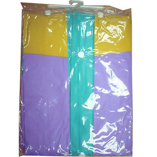 EXTRA前開式PVC雨衣-紫(XL~XXL)