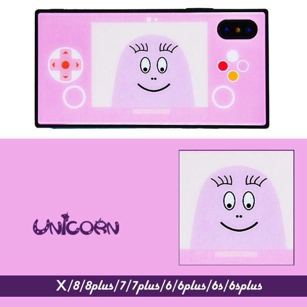 粉紅泡泡先生戲機 全包硬殼 保護殼 iphone X 8 8plus 7 7plus 6s 6splus 6 6plus【Unicorn手機殼】