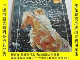 二手書博民逛書店THE罕見ENCHANTED HORSE(英文)Y200392