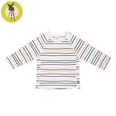 德國Lassig-嬰幼兒抗UV長袖泳裝上衣-線條粉