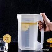 耐熱冷水壺家用塑料涼水壺扎壺耐高溫比玻璃防爆大容量茶壺涼水杯