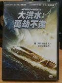 挖寶二手片-E12-009-正版DVD*電影【大洪水-萬劫不復】-是聖經的末日預言,還是人類無可避免的毀滅