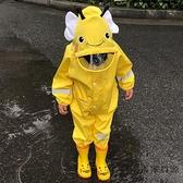 兒童雨衣連身防護男女童寶寶小孩中大童雨披全身雨具【毒家貨源】