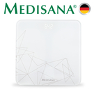 德國Medisana-純白幾何體重計PS437