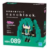 《Nano Block迷你積木》NBH-089 初音未來 ╭★ JOYBUS玩具百貨