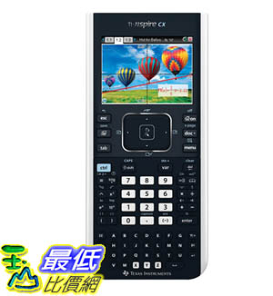 (美國代購) Texas Instruments TI-Nspire CX Graphing Calculator
