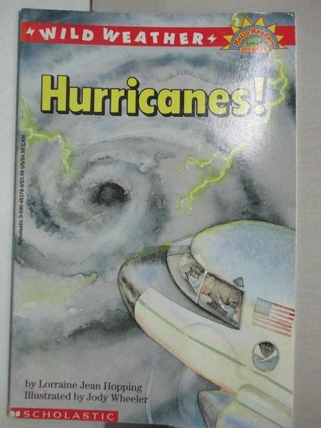 【書寶二手書T9/動植物_KDO】Wild Weather: Hurricanes_Hopping, Lorraine Jean/ Wheeler, Jody (ILT)