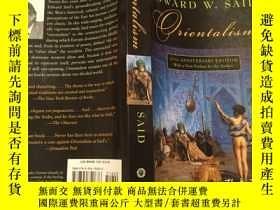 二手書博民逛書店Orientalism罕見by Edward W. Said 薩