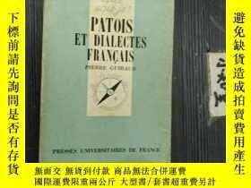 二手書博民逛書店法文原版罕見Patois et dialectes frança