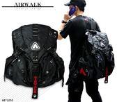 AIRWALK後背包 三叉扣後背包登山背包電腦包筆電包 AB71050