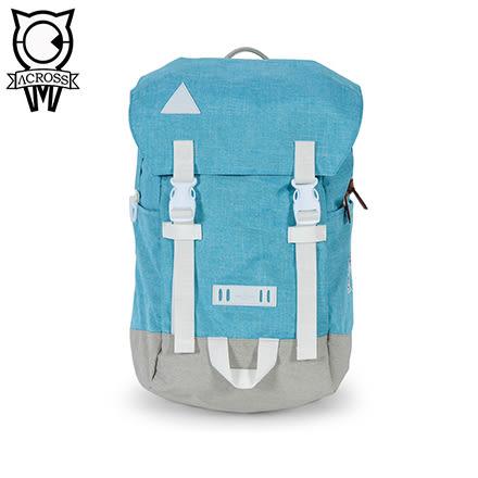 ACROSS 後背包COOL系列 天藍色 CL160705