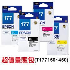 EPSON T177650原廠墨水匣 T177系列超值量販包 (1黑3彩)★適用機型:XP-102/XP-202/XP-302/XP-402
