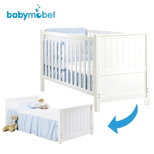 歐洲嬰兒床★babymobel 聰明發育成長床/嬰兒床-MI3款(含彈簧床墊) I-MI-3