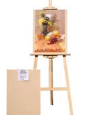 1.7米畫板畫架套裝繪畫寫生素描4k畫板成人支架式實木畫架木制 YXS優家小鋪