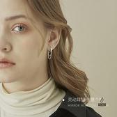 流蘇耳環女耳飾個性耳釘耳墜S925純銀耳圈【愛物及屋】