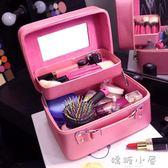 化妝包收納包旅行大容量韓版專業手提便攜可愛化妝品洗漱包化妝  嬌糖小屋