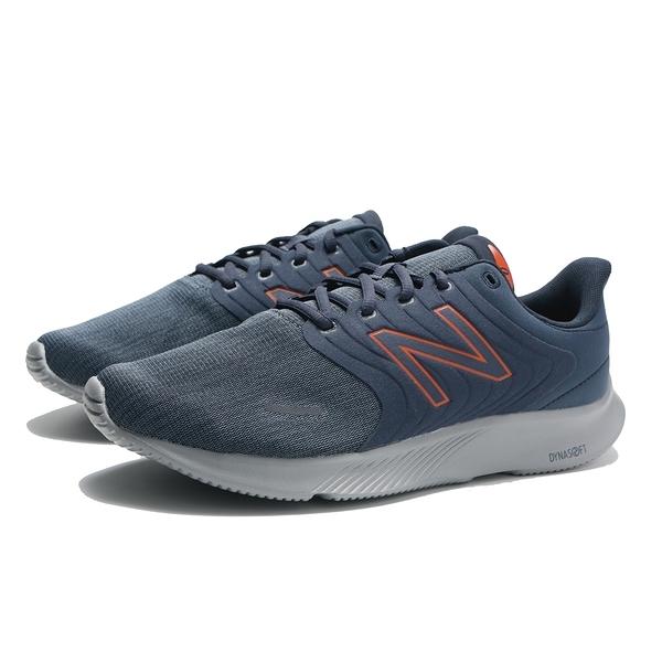 NEW BALANCE 慢跑鞋 068 丈藍 麂皮 橘邊LOGO 4E 寬楦 訓練鞋 男 (布魯克林) M068CN