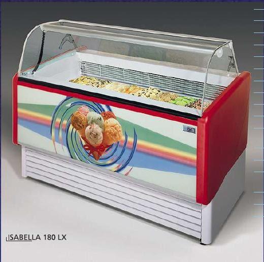 義大利ISA冰淇淋櫃【無霜 冰櫃】型號:Isabellalx-180
