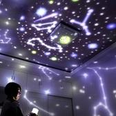 星空投影燈 投影燈臥室浪漫旋轉創意夢幻滿天星插電床頭燈暖光燈【快速出貨八折下殺】