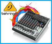 【小麥老師樂器館】Behringer 耳朵牌 XENYX X1622USB 12軌 數位效果 混音器 效果器