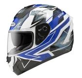 ZEUS 瑞獅安全帽,ZS-806F,II68/白藍
